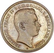 2 Mark - Friedrich Franz IV – obverse