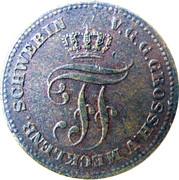 2 Pfennige - Friedrich Franz II – obverse