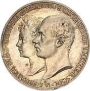 2 Mark - Friedrich Franz IV (Wedding) – obverse