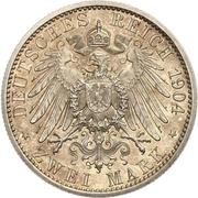 2 Mark - Friedrich Franz IV. (Wedding) – reverse