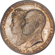5 Mark - Friedrich Franz IV (Wedding) – obverse