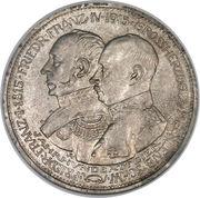 5 Mark - Friedrich Franz IV (Grand Duchy) – obverse