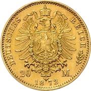 20 Mark - Friedrich Franz II. – reverse