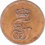 1 Pfennig - Friedrich Franz I – obverse