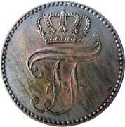 3 Pfennige - Friedrich Franz II – obverse