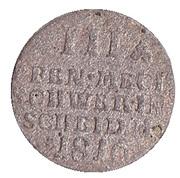 3 Pfennig - Friedrich Franz I. – reverse