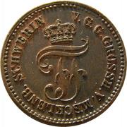 1 Pfennig - Friedrich Franz II. – obverse