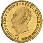 1 Ducat - Friedrich Franz I. – obverse