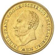 5 Thaler - Friedrich Franz I. – obverse