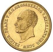 10 Thaler - Friedrich Franz I. – obverse