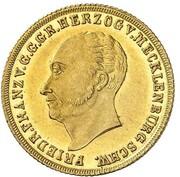 2 Thaler - Friedrich Franz I. – obverse