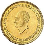 2½ Thaler - Friedrich Franz I. – obverse