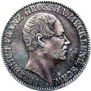 1 Thaler - Friedrich Franz II – obverse