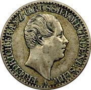 ⅙ Thaler - Friedrich Franz II – obverse