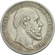 2 Mark - Friedrich Franz II. – obverse