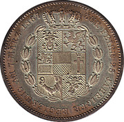1 Vereinsthaler - Friedrich II. (Reign) – reverse
