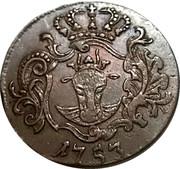 3 Pfennig - Adolph Friedrich IV – obverse