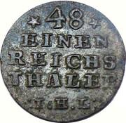 1/48 Thaler - Adolf Friedrich IV. – reverse