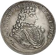 ⅔ Thaler - Adolf Friedrich II – obverse