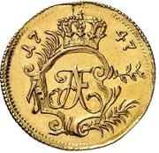 2 Thaler -  Adolf Friedrich III – obverse