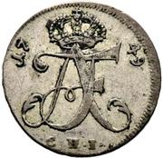 1/24 Thaler - Adolf Friedrich III. – obverse