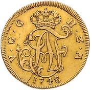 5 Thaler - Adolf Friedrich III – obverse