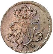1 Pfennig -  Adolf Friedrich III. – obverse