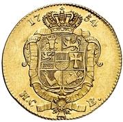 1 Pistole - Adolf Friedrich IV. – reverse