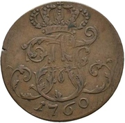 3 Pfennig - Adolph Friedrich IV. – obverse