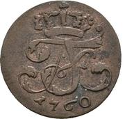 6 Pfennig - Adolph Friedrich IV. – obverse