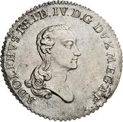 16 Gute Groschen - Adolf Friedrich IV – obverse