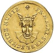 3 Pfennig - Adolf Friedrich II. (Gold pattern strike) – obverse