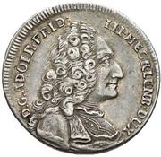 1 Ducat - Adolf Friedrich III (Silver pattern strike; Reformation) – obverse