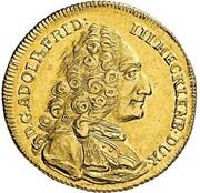 1 Pistole - Adolf Friedrich III. – obverse