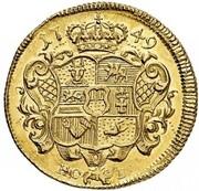 1 Pistole - Adolf Friedrich III. – reverse