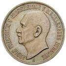 3 Mark - Adolph Friedrich V – obverse