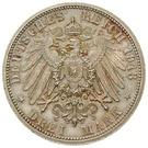 3 Mark - Adolph Friedrich V – reverse
