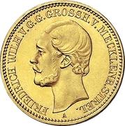 10 Mark - Friedrich Wilhelm – obverse