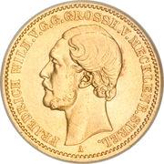 20 Mark - Friedrich Wilhelm – obverse