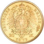 20 Mark - Friedrich Wilhelm – reverse