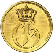 1½ Pfennig - Georg (Gold Pattern) – obverse