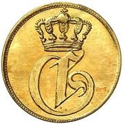 1 Pfennig - Georg (Gold Pattern) – obverse