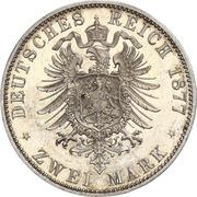 2 Mark - Friedrich Wilhelm – reverse