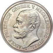 2 Mark - Adolph Friedrich V – obverse