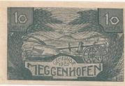 10 Heller (Meggenhofen) – obverse