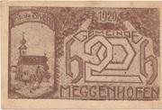 20 Heller (Meggenhofen) – obverse