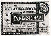 30 Heller (Meggenhofen) – obverse