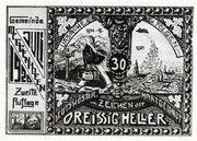 30 Heller (Meggenhofen) – reverse