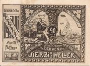 40 Heller (Meggenhofen) -  reverse