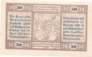 50 Heller (Mehrnbach) -  reverse